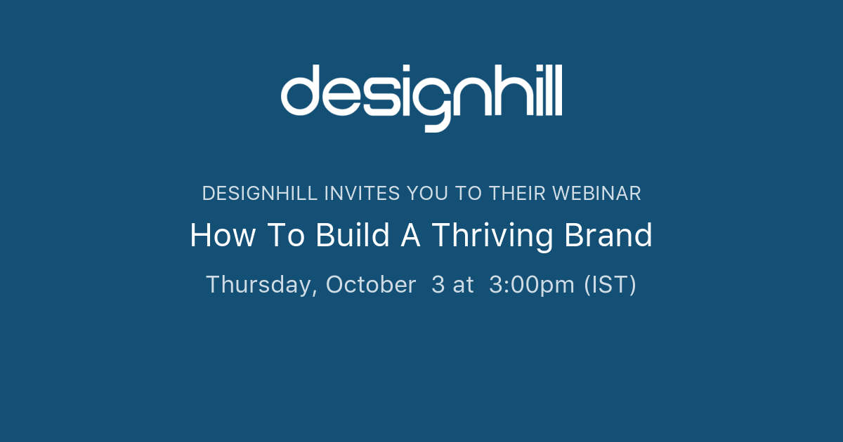 How To Build A Thriving Brand | Designhill